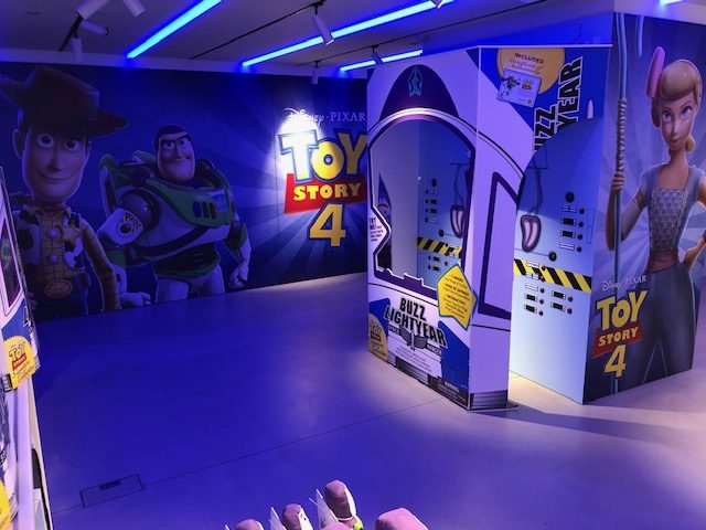 Toy Story 4 pop up