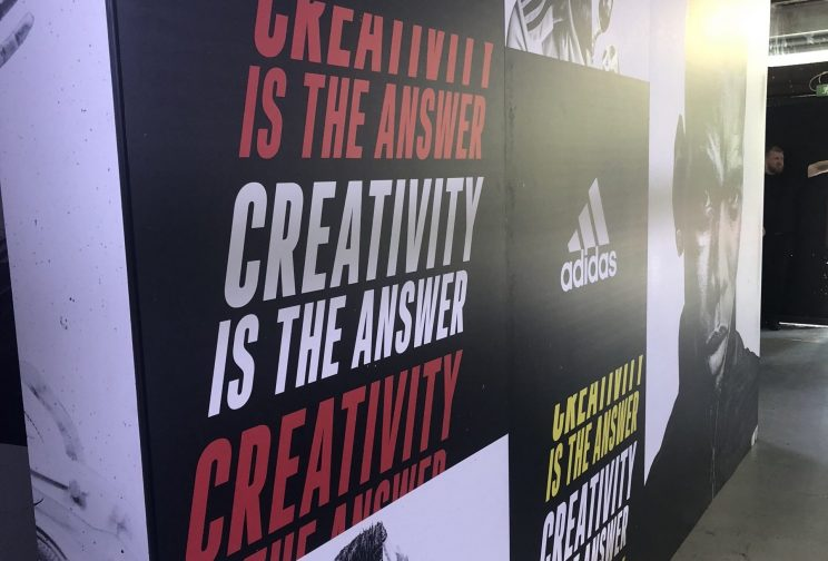 Adidas popup event
